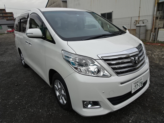 2013 TOYOTA ALPHARD MODEL:ANH20W 2400cc ANH20-8280326