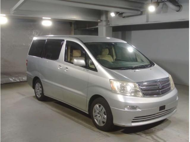 2002 TOYOTA ALPHARD ANH10W 2400CC ANH10-0012232
