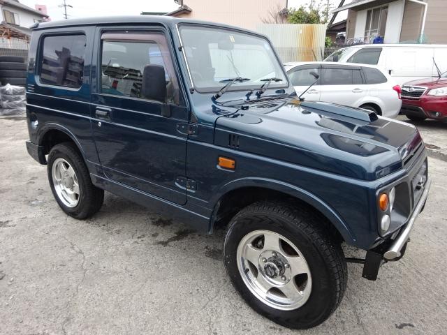 1997 SUZUKI JIMNY JA22W 660CC JA22W-129610