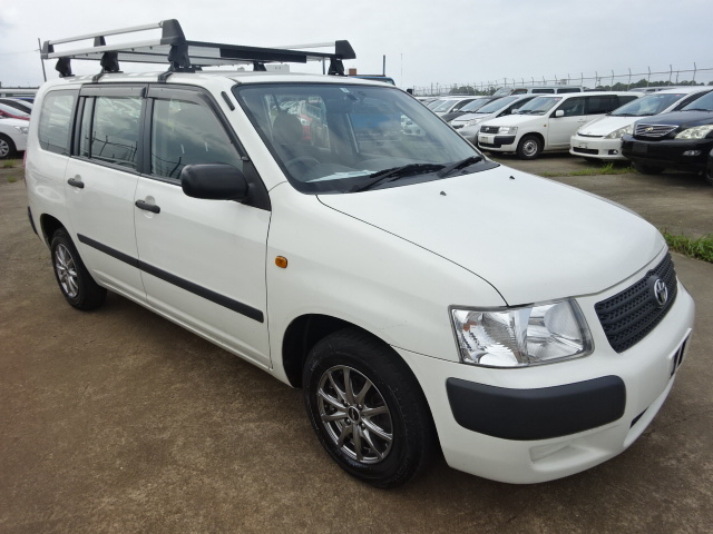 2013/JUL Auction Grade:4 SUCCEED VAN NCP55V 1500cc NCP55-0111929
